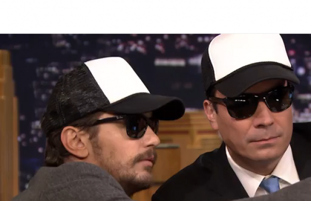 James Franco Teaches the Selfie on Jimmy Fallon