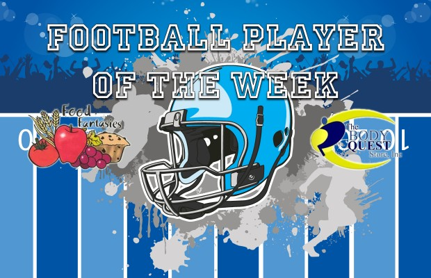 Fball Player of the Week WDBR